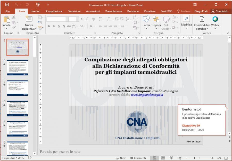 Slide Formazione Di.Co.